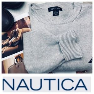 NAUTICA Long Sleeve Crewneck SWEATER Pullover